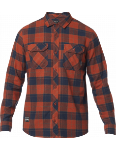 Fox Traildust 2.0 Flannel Adobe