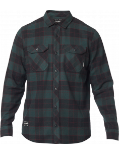 Fox Traildust 2.0 Flannel Svart