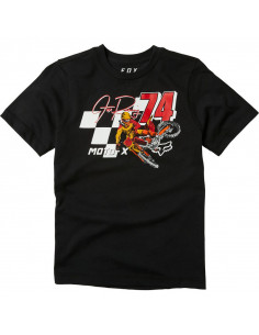 Fox Youth Trackside T-shirt Svart