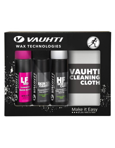 Vauhti Quick Kit Skin 3 bottles+ polishing cloth