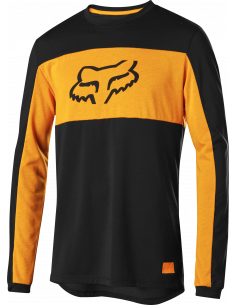 Fox DR Foxhead LS Jersey Svart/Orange