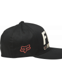 Fox Triple Threat Flexfit Hat Svart